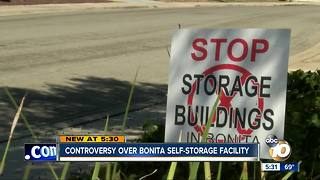Controversy over Bonita self-storage facility - Video