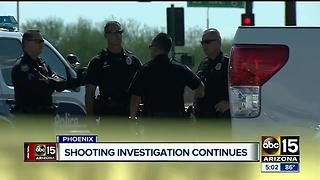 Shooting investigation continues in south Phoenix