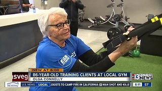 86-year-old Olympian now personal trainer