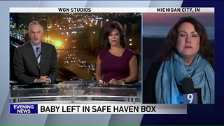 Despite Controversy, Town Installs Safe Haven Box. They Just Rescued Their First Newborn - Video