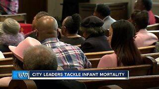 City leaders tackle infant mortality