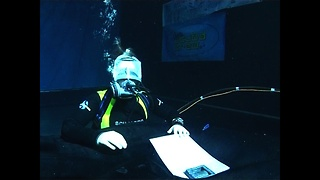 World's Longest Underwater Broadcast - Video