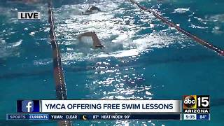 YMCA offering free swimming lessons