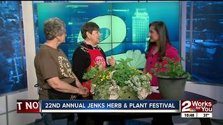 Jenks Herb and Plant Festival on April 28