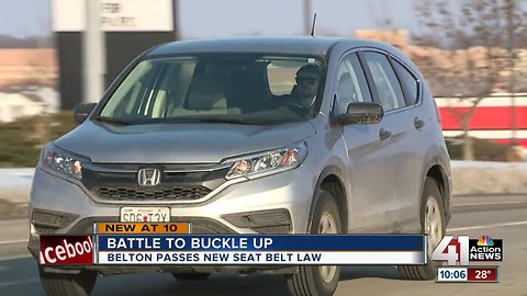 Buckle up or get pulled over, new Belton ordinance says