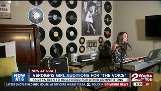 Verdigris girl auditions for 'The Voice'