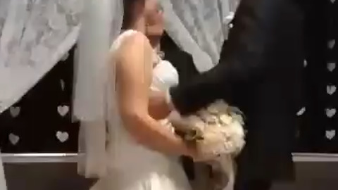"Kid Who Said ""Eww Gross"" When He Saw Newlyweds Kissing"