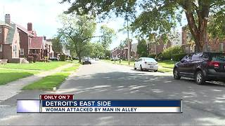Detroit police searching for man who attacked woman after she refused sex - Video
