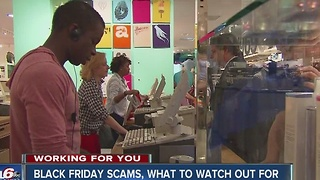 Black Friday scams, what to watch out for - Video