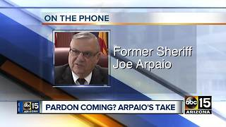 As possible Donald Trump pardon talks emerge, hear from Joe Arpaio - Video