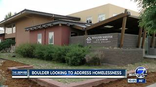 Boulder looking to address homelessness - Video