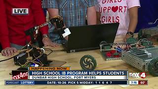 Dunbar High School IB Program helps students - Video