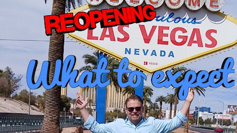 Las Vegas is Reopening - What it's like NOW No Mask No Dice