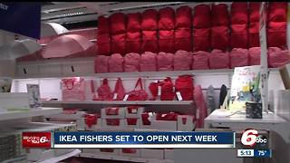Fishers IKEA announces grand opening giveaways including sofas, armchairs, mattresses and more - Video