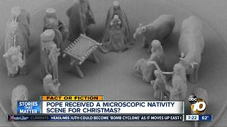 Microscopic Nativity Scene? - Video