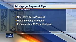 Ask the expert: mortgage payment tips - Video