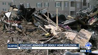 Healing on hold: Firestone home explosion site still in disarray - Video