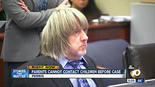 Perris parents ordered not to contact children - Video