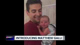 Brad Galli and his wife welcome their first child - Video