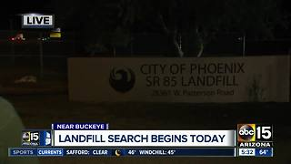 Police to search landfill for missing Phoenix woman - Video