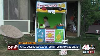 Gladstone rallies behind boy's lemonade stand - Video