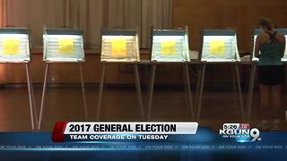 Voting locations on election day