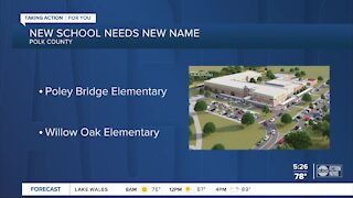 Polk County needs help to name newest elementary school