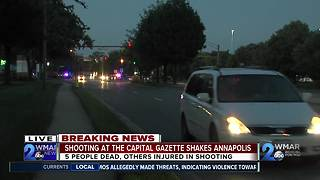 Shooting at Capital Gazette Shakes Annapolis - Video