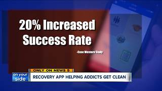 App created in Cleveland helping addicts - Video