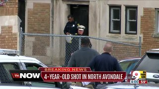 4-year-old shot in North Avondale