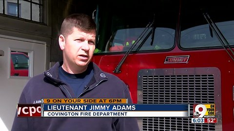 Firefighter recalls quick reaction to save child