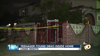 19-year-old found dead inside Logan Heights Home