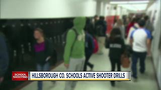 Hillsborough County schools will have active shooter drills this week - Video