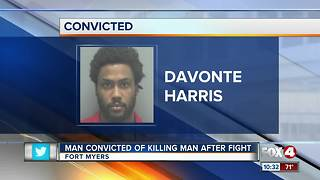 Man Convicted of Killing Man After Fight - Video
