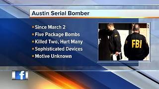 FBI: Austin bombing suspect kills himself with explosive device - Video