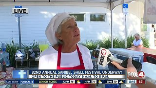 The Sanibel Shell Festival underway for 82nd year
