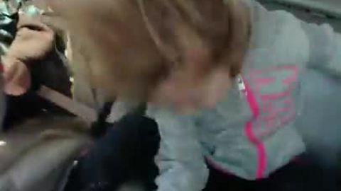 Head banging 4-year-old rocks out!