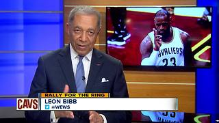 Leon Bibb on the Cavs and LeBron James - Video