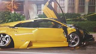 Widow files lawsuit  against Lamborghini driver involved in fatal Delray Beach wreck - Video