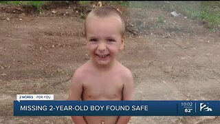 Missing 2-year-old Mayes County boy found safe