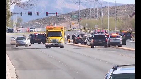 UPDATE: Boy dies after crash sends 2 juveniles to hospital in southwest Las Vegas