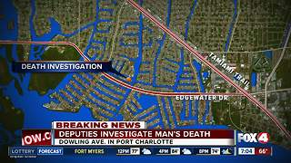 Investigation under way after body found in water in Port Charlotte - Video