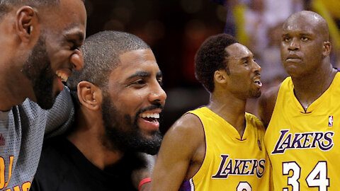 Shaq & Kobe, LeBron & Kyrie: Breaking Down NBA Duo's That Couldn't Get Along