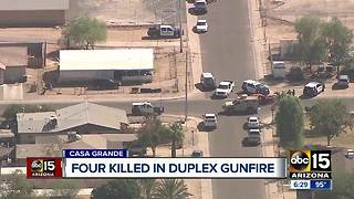 Four people found shot, dead in Casa Grande home - Video