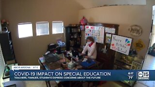 COVID-19 impact on special education