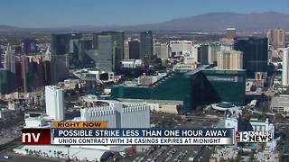 Culinary Union could strike anytime as Las Vegas deals expire - Video