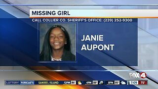 12-year-old Janie Aupont reported missing in Golden Gate, Florida
