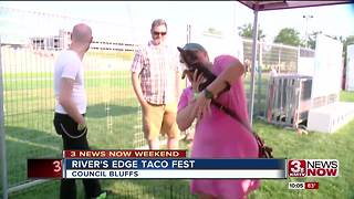 Taco Fest at Tom Hanafan River's Edge Park - Video