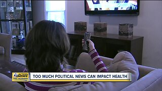 Study: Too much political news can impact health