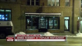 Police investigating armed robbery at popular Milwaukee restaurant - Video